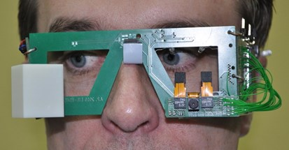 First prototype of eGlasses